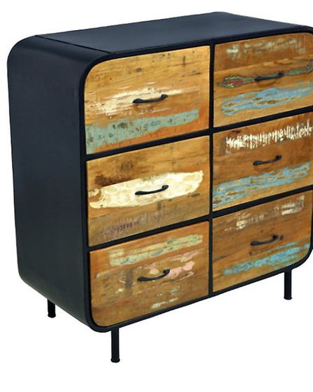 The Retro Industrial Collection by Hampshire Furniture blends modern and vintage design
