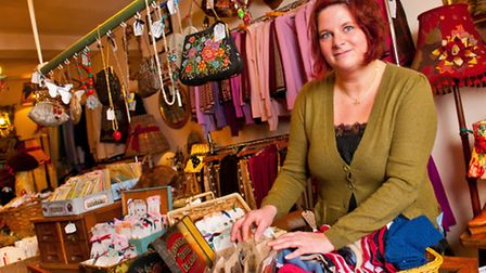 Marsha's designs suit women who are independent and eccentric