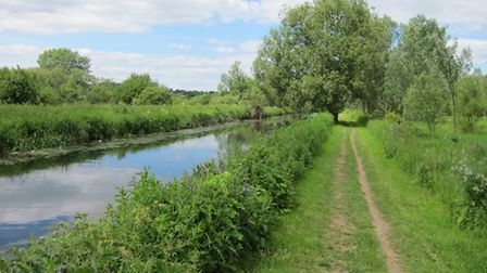 The Stort heads off into the countryside