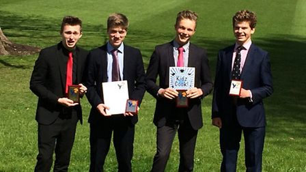 Seaford College Young Enterprise Team