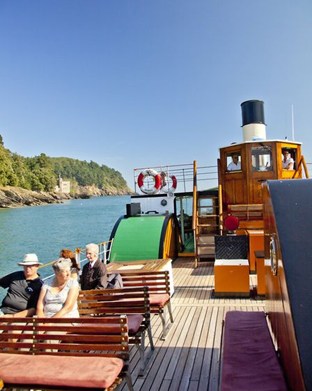 Kingswear Castle made a trumphant return to the River Dart in 2013
