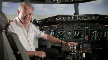 Captain Andy Wilkins of the Virtual Jet Centre