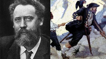 William Ernest Henley and Long John Silver