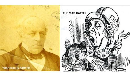 Theophilus Carter and The Mad Hatter