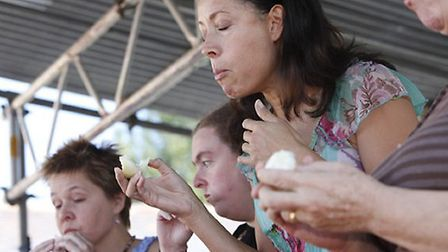 The Newent Onion Eating Competition