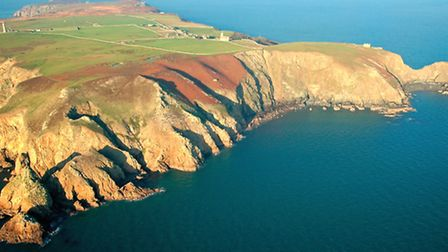 Lundy sits at the entrance of the Bristol Channel