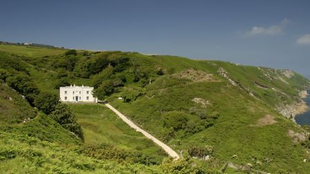 Millcombe House on Lundy