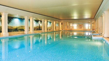 Eastwell Manor's gorgeous indoor pool