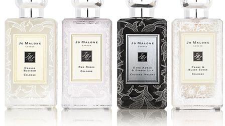 Don't forget the scent: Jo Malone's Bridal Lace Bottles