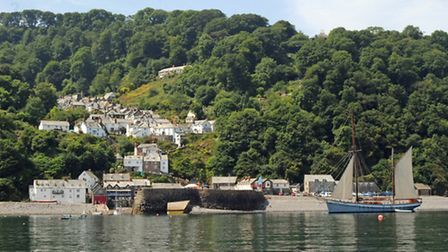 The quiet and quaint village of Clovelly