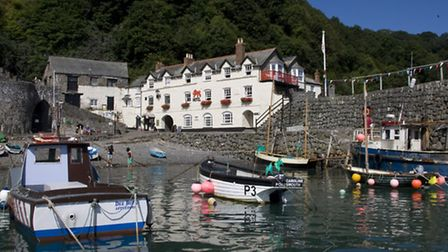 The tranquil harbour
