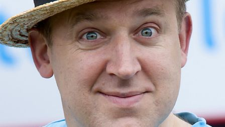 There's never a dull moment with Tim Vine around (Photo Andy Newbold)