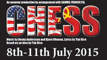 CHESS The Musical at the Bacon Theatre in Cheltenham