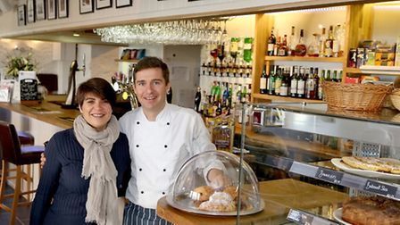 Matt and Delphine Buzzo put great emphasis on cooking with local produce