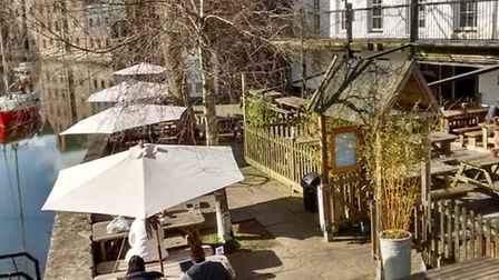 The Waterside Bistro in Totnes got a makeover for its 10th anniversary this year