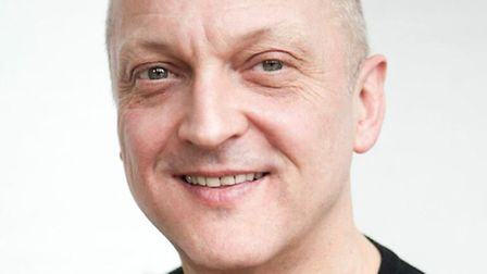 Actor David Benson, who will play four characters in the production