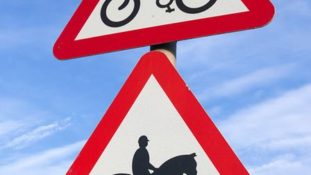 Mutual respect between cyclists and horse riders prevents accidents