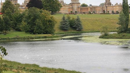 Blenheim Palace park grounds | Photo credit: Tm [wiki commons]