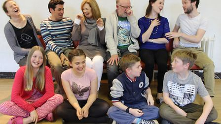 The cast of The Big Meal | Photo: The Playhouse Company (Cheltenham)