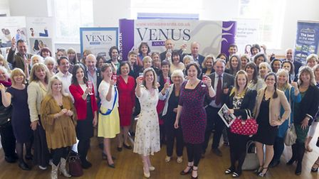 Sponsors, organisers and hopeful nominees at last months launch event