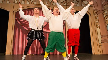 The Reduced Shakespeare Company | Photo credit: Karl Andre Photography