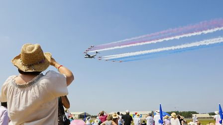 The Air Tattoo is renowned for its aviation spectacles