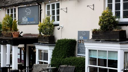 The Blue Boar in the centre of town