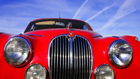 Classic cars at Knebworth House