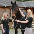 Adele Plant and Jemma Coburn with 'Cruise Control' at Team Two Mills, Willaston