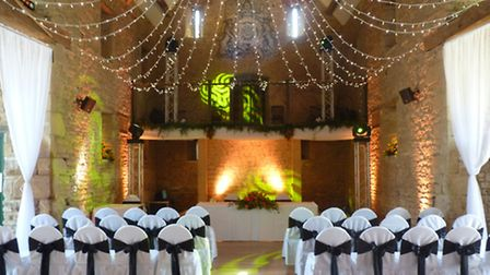 Adding style to your wedding with lighting