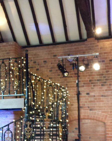Fairy lights are a cost effective way to decorate your wedding