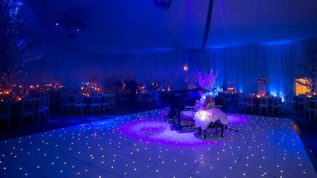 White LEDs add sparkle to the dancefloor