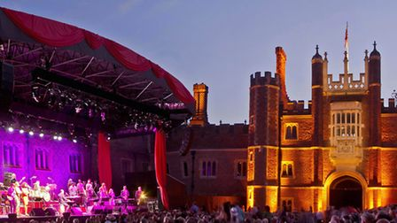 The concerts at Hampton Court are always a fabulous occasion (Photo HCP - stephen@positive-images.co