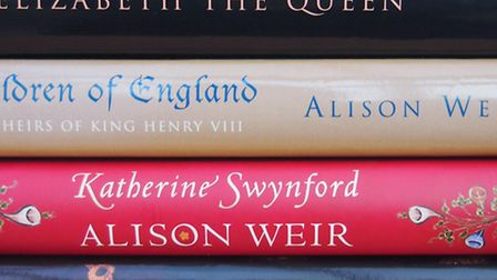 Alison has written a whole host of best-selling history books (Photo Claire Saul)