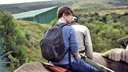 Riding on Duma in Addo | Photo courtesy of Natasha Bird