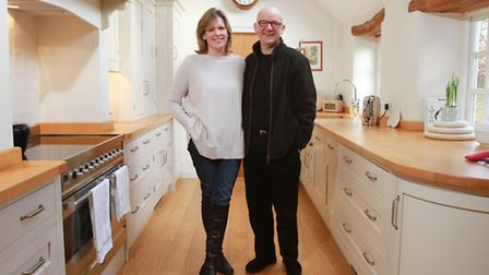 Bob Chilcott, one of the world's premiere composer and choral conductors, with his wife Kate