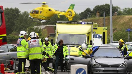 The Hampshire and Isle of Wight Air Ambulance began in 2007 and has since saved thousands of lives