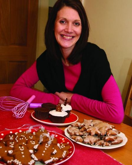 Ruth Clemens went onto start the hugely successful Pink Whisk cookery blog