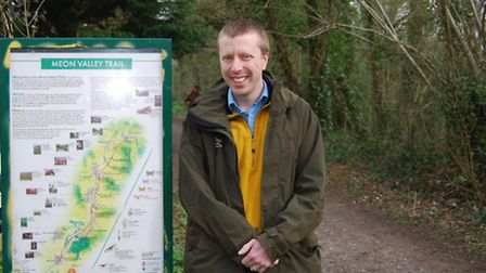 David Deane Cycling Officer for the SDNPA