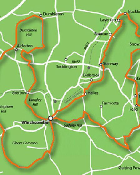 The Winchcombe Way / Image: Winchcombe Walkers are Welcome