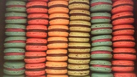 The bright colours and sweet flavours of Frandie macarons make them irresistible