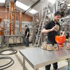 Hard at work with Silent Pool Distillers