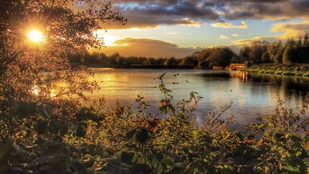 Woolston Weir by Anthony Marsh