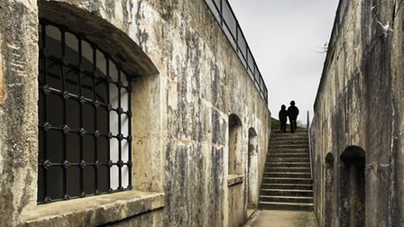 Casements at Reigate Fort - photo by Andrew Butler