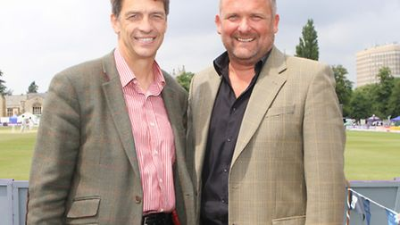 Tim Thurston from Cotswold Life and Paul Halfpenny from Britannia Construction