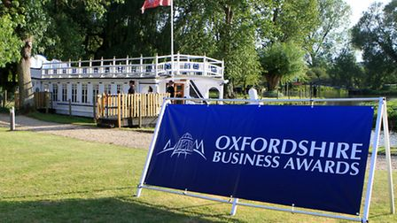 Oxfordshire Business Awards at Oxford Thames Four Pillars Hotel