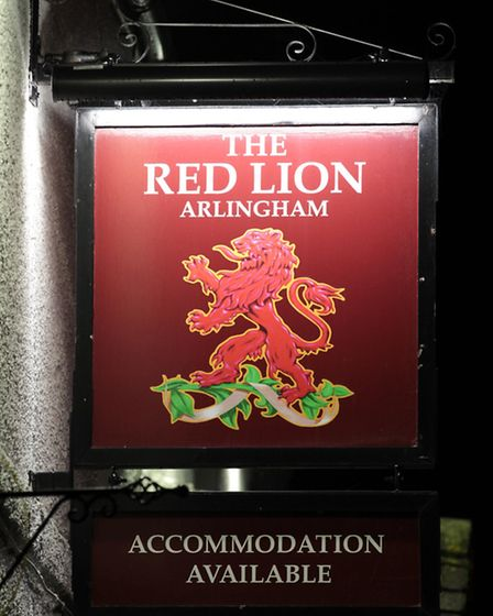 The community-owned Red Lion in Arlingham