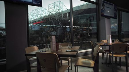 A room with a view at Cafe Football in Hotel Football