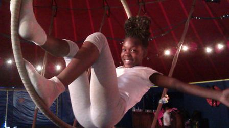 Kids will get the chance to learn circus skills.