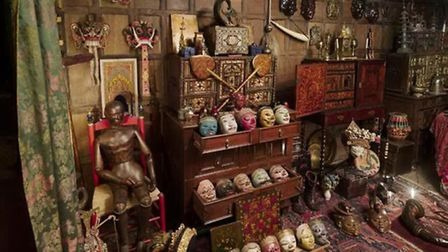 Part of Snowshill's rich collection